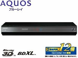 シャープ 2TB 2チューナー ブルーレイレコーダー AQUOS BD-W2000