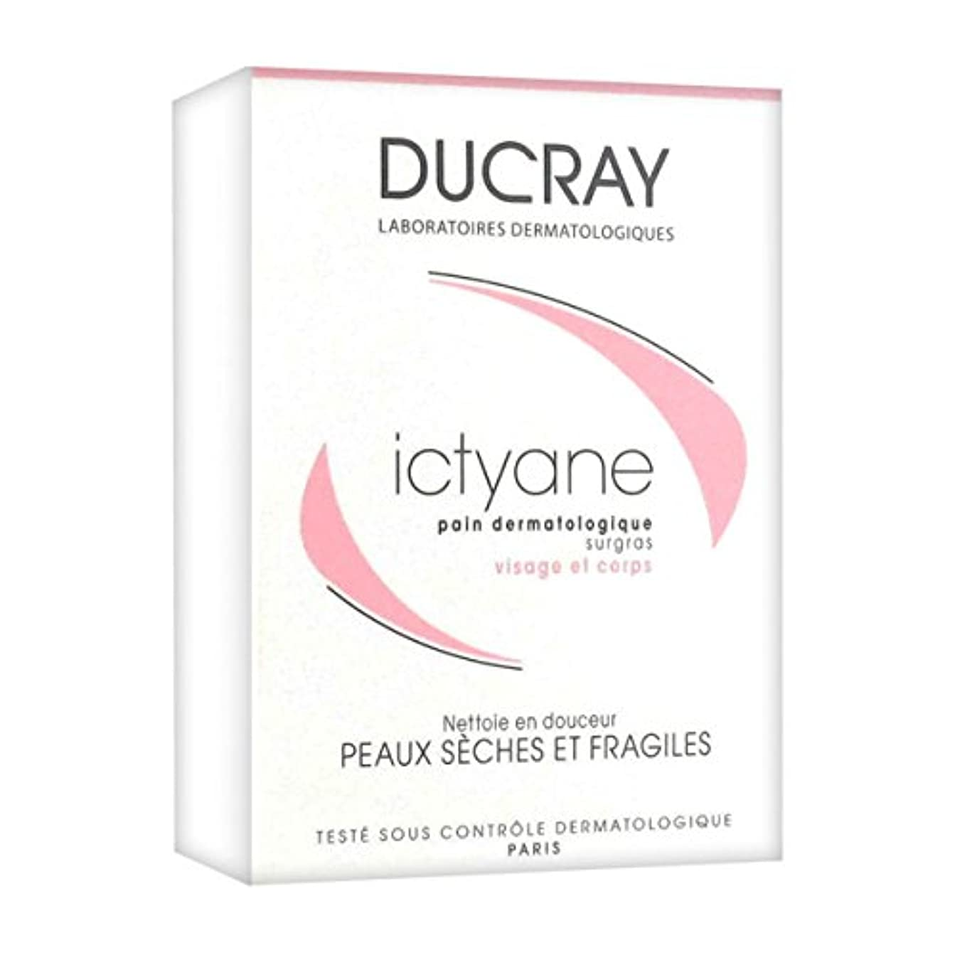 貫通活気づく公演Ducray Ictyane Extra-rich Dermatological Soap 100gr [並行輸入品]