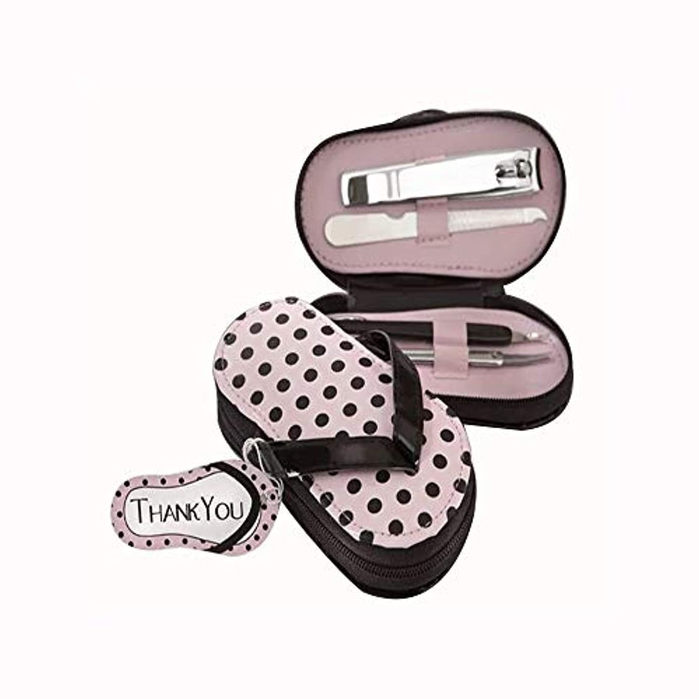 クラッシュ恩恵毎回爪切り セットスリッパの外観ステンレス爪切りセットファッション爪切りセット収納ケース付き、ピンク、4点セット