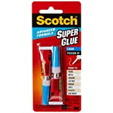 Scotch AD121 Advanced Formula Super Glue Liquid,  Transparent