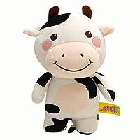 ぬいぐるみ 牛 かわいい おもちゃ 特大 おもしろ 可愛い 寝室 ふわふわ 25CM 動物 ベッドルーム プレゼント 母の日 誕生日 入学祝い 卒業祝い クリスマス 贈り物 牛