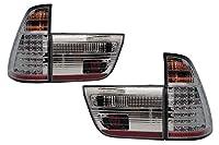 テールランプ LED クローム BMW E53 1998~2003 X5 SONAR(ソナー) 【1年保証】