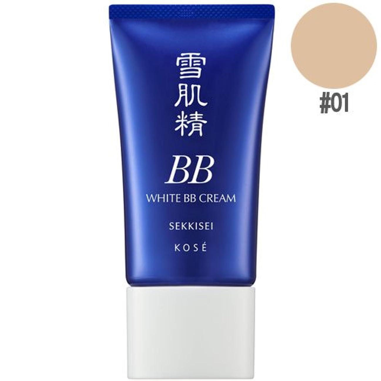 感じ明確に韓国KOSE 雪肌精ホワイトBBクリームSPF40/PA+++#01[並行輸入品]