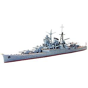 タミヤ 1/700 ウォーターラインシリーズ No.344 日本海軍 軽巡洋艦 熊野 プラモデル 31344