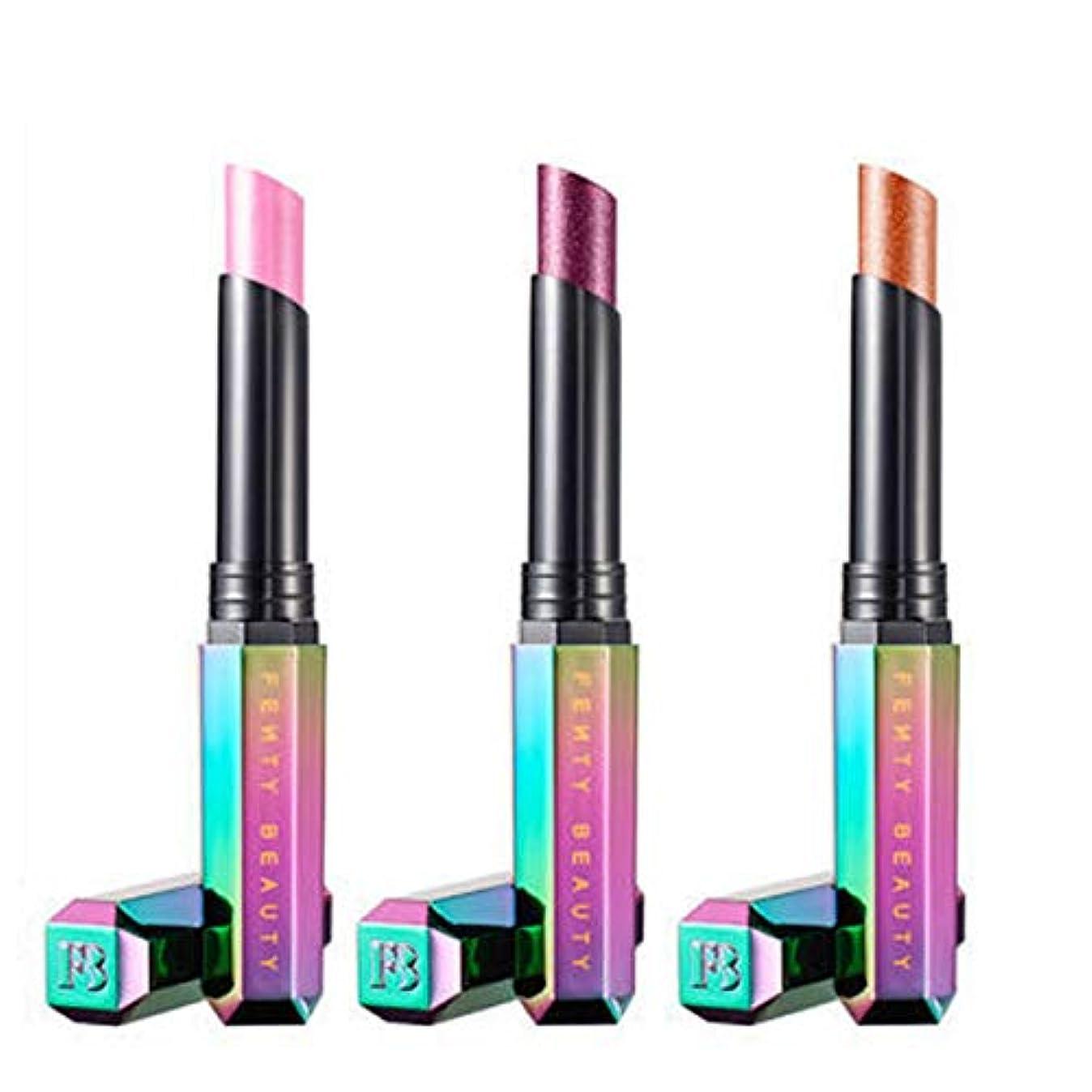 アナウンサー持っているオーバーコートFENTY BEAUTY BY RIHANNA 限定版 STARLIT LIP TRIO STARLIT Hyper-Glitz Lipstick 3/Set [海外直送品] [並行輸入品]