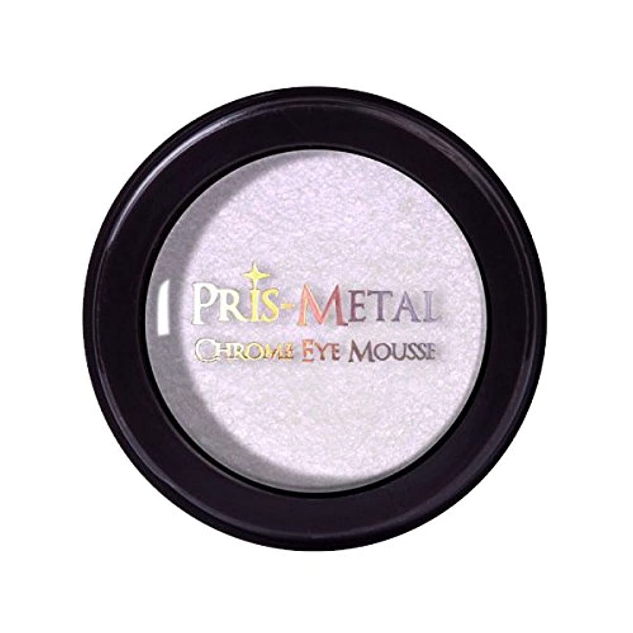鎮痛剤平和的却下する(3 Pack) J. CAT BEAUTY Pris-Metal Chrome Eye Mousse - Pinky Promise (並行輸入品)