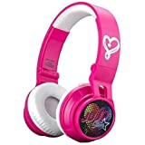 JoJo Siwa Bluetooth Headphones Kids Wireless Rechargeable Kid Friendly Sound (JoJo Siwa)