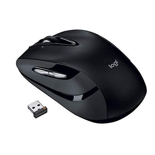 ロジクール ワイヤレスマウス 無線 マウス M545BK Unifying 7ボタン 電池寿命最大18ケ月 M545 ブラック 国内正規品 3年間無償保証