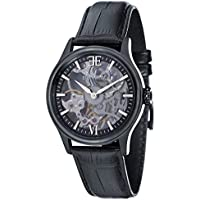 Thomas Earnshaw Men's ES-8061-05 Year-Round Analog Mechanical Black Band Watch