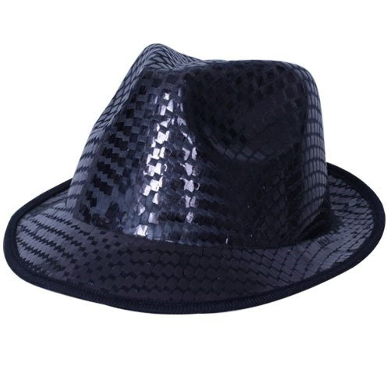 Fun Party Toy - Fedora hat [black]