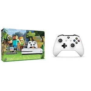Xbox One S 500GB Minecraft 同梱版 (ZQ9-00068) + XboxOne ワイヤレスコントローラー (ホワイト)