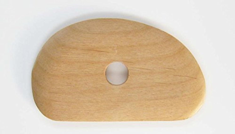 みなさん幽霊気絶させる陶芸用品 陶芸道具 こて 木ごて まが玉こて 陶芸 粘土 C26-7