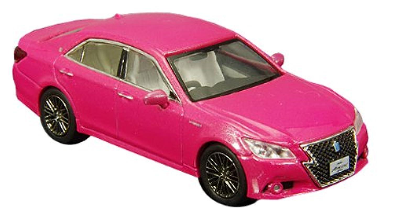 ENIF 1/64 トヨタ クラウン アスリート G 2014 ピンク 完成品