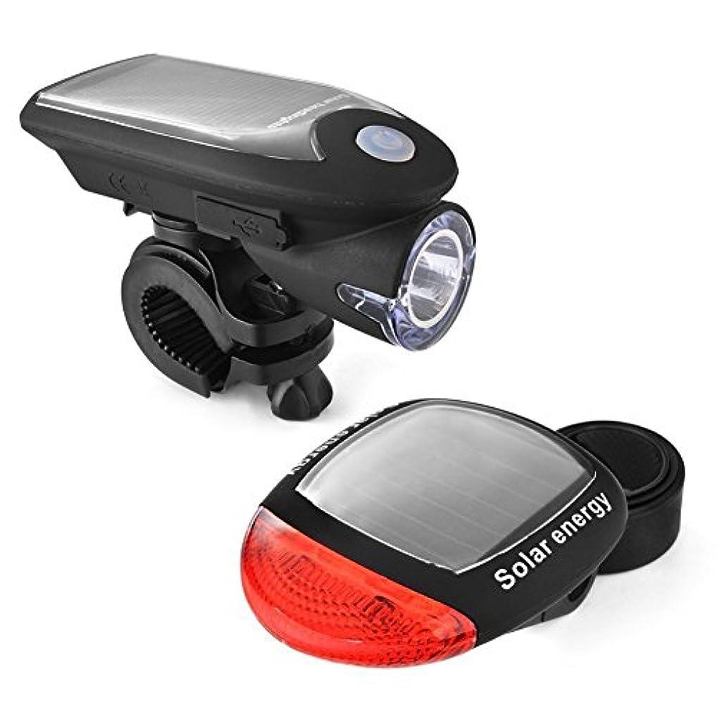 トラック結婚病自転車ライトセット Led Usb充電式,DMCE 自転車ライト スーパー ブライト 点滅 ヘッドライト テールライト セッ Ip65 防水 簡単なインストール マウンテン バイク