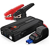 TrekPow Car Battery Jump Starter G39, 1200A Peak 12V Portable Auto Battery Booster Car Battery Jumper (up to 6.5L Gas / 5.5L Diesel Engine) Phone Charger Jump Pack for Cars, Truck, SUV