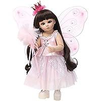 Domybest リボーンベビードール 人形 天使 赤ちゃん 子供玩具 ビニールリアル 女の子 抱き人形 可愛い 姫様 着せ替え人形 ベビー ケア レーニング シリコン プレゼント 出産祝い 45cm