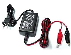 GOODGOODS バイク用 バッテリー充電器 12V 1A バッテリーチャージャー【HE-03】 密閉型 開放型 シールド型バッテリー 自動車 船舶