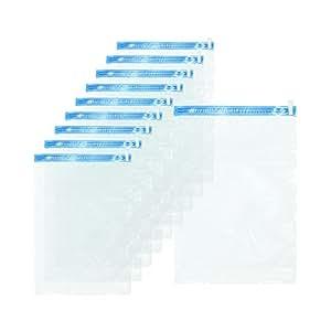 Love-KANKEI 圧縮袋 衣類圧縮袋 掃除機不要 防塵防湿 防虫防カビ 収納/旅行/引越し/出張に便利 Lサイズ 10枚組(35×50cm)