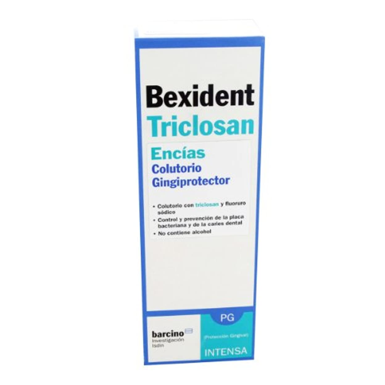バルブ専制縞模様のBexident Gum Maintenance Triclosan Mouthwash 250ml [並行輸入品]