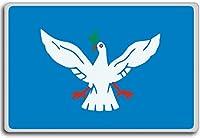 Brazil, Bandeira De Salvador, Bahia city fridge magnet - 蜀キ阡オ蠎ォ逕ィ繝槭げ繝阪ャ繝