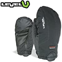 LEVEL レベル スキーグローブ OVERGLOVE ELEMENT オーバーグローブ 手袋 メンズ (Black):6041OM