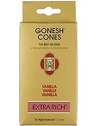 ガーネッシュ(GONESH) エクストラリッチ インセンス コーン バニラ 25個入(お香)