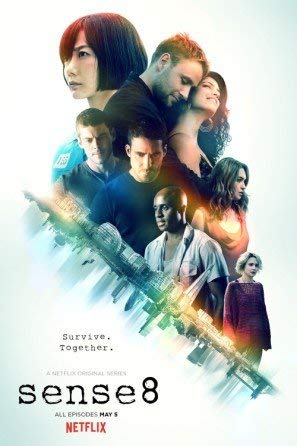 Wall Art Sense8 Movie Poster Print Size (30cm x 43cm / 12 Inches x 17 Inches) N1