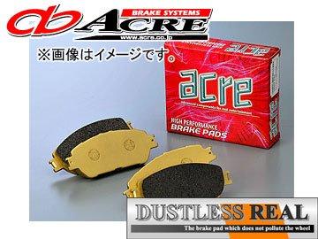 アクレ ブレーキパッド ダストレスリアル フロント 580 レガシィツーリングワゴン BPE(3.0R SPEC-B除く)