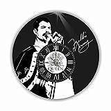 フレディ・マーキュリー(Freddie Mercury)11.4''掛け時計あなたの友人やご家族のための最高のプレゼントです。プラスチック製