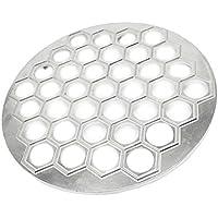 Kesoto 37穴  アルミニウム  餃子ツール 金型 ラビオリメーカー 妻 母親 贈り物 全2色選べる   - 銀