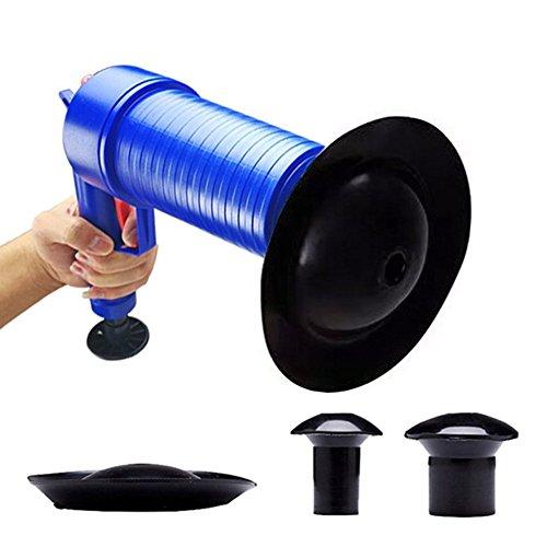 パイプクリーナー 加圧式 パイプレスキュー 4種類のラバーパーツ 洗面台 浴槽 排水口 排水管 パイプ つまり解消 疏通ツール 台所 洗面台 トイレ 使用可能