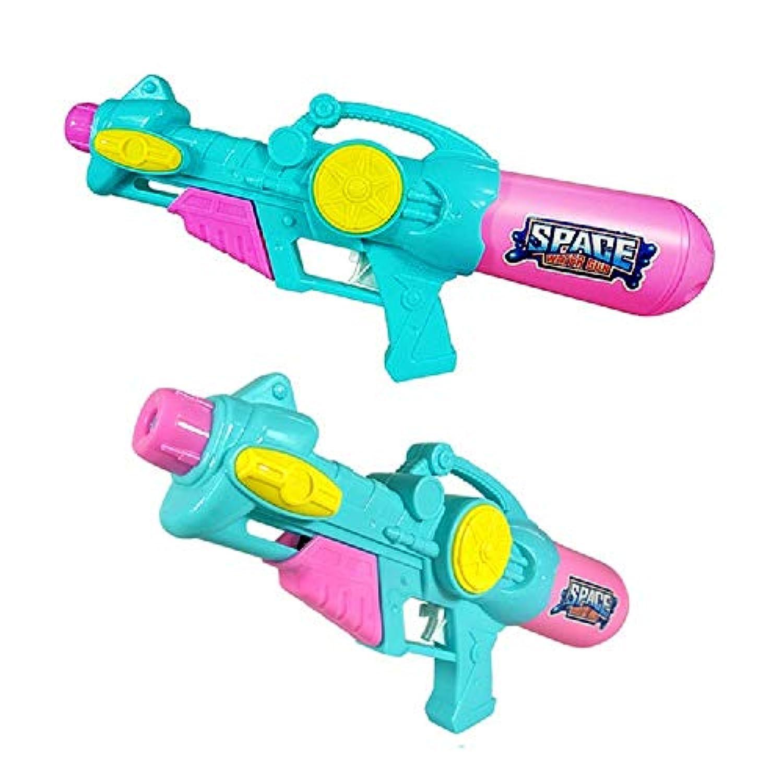 夏のビーチ水のおもちゃ子供水鉄砲のおもちゃ大容量プル水鉄砲のおもちゃ素晴らしい夏のおもちゃ楽しいのために屋外 ( Color : Green , Size : L )