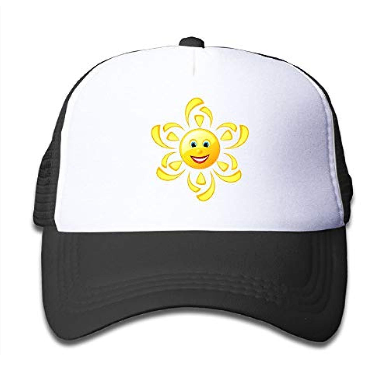 かわいい ムーン 素敵 かわいい おもしろい ファッション 派手 メッシュキャップ 子ども ハット 耐久性 帽子 通学 スポーツ