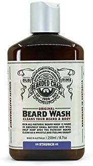 The Bearded Chap Original Staunch Beard Wash, 250 milliliters