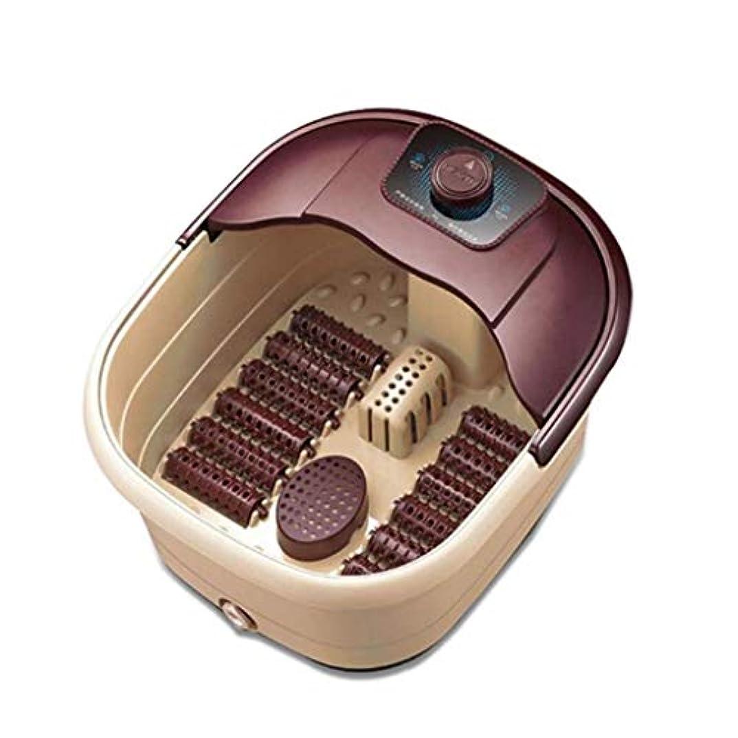 ビルマ謝る安いです電動フットマッサージャー、マッサージャーバケット、電動フットスパ/バスマッサージマシン、高温温度制御ローリング、フットケアおよびストレスリリーフ用