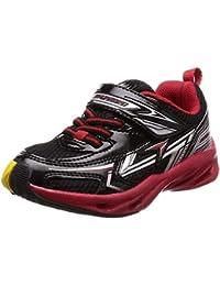 [シュンソク] 運動靴 通学履き 瞬足 通気性UP 軽量 15cm~23cm キッズ 男の子