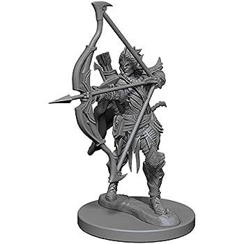 Elf Male Sorcerer WizKids WZK72605 Deep Cuts Unpainted Miniatures
