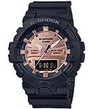 [カシオ]CASIO 腕時計 G-SHOCK ジーショック BLACK&ROSE GOLD GA-800MMC-1AJF メンズ