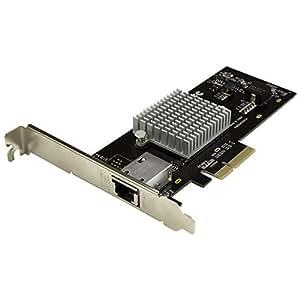 スターテック.com 1ポート10GBase-T増設PCI ExpressイーサネットEthernet LANカード Intel X550-AT搭載 NBASE-T対応 ST10000SPEXI
