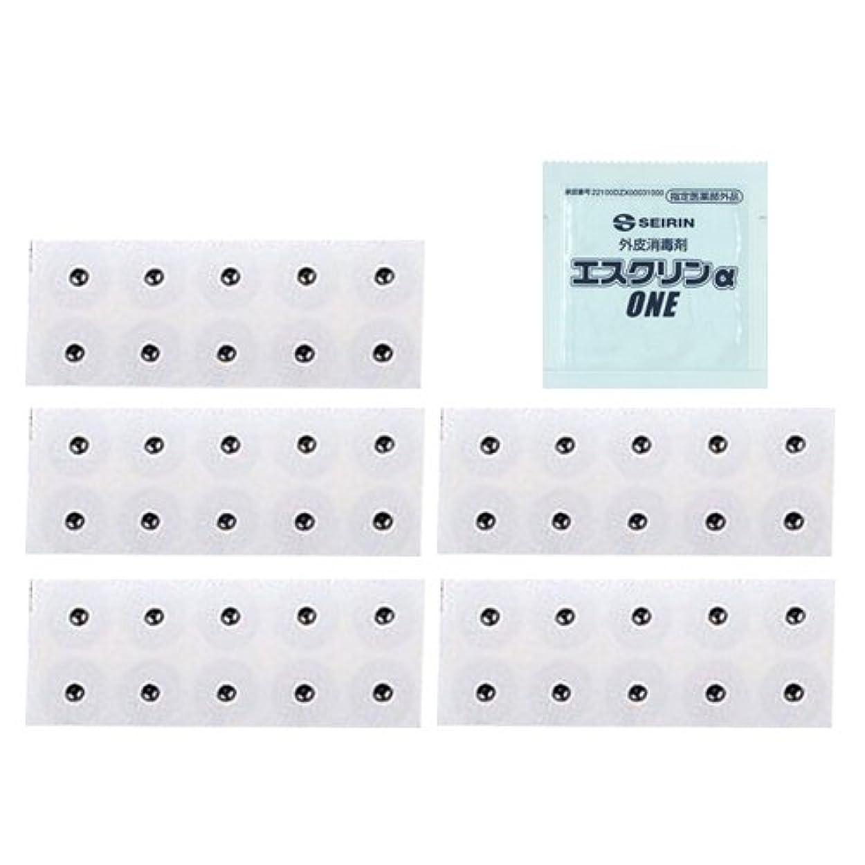 コンチネンタルマーケティング反動ユニコバン S 10本入 (995012) (太さ0.22×長さ1.1×磁石5.5mm) × 5シート + エスクリンαONE(1包)セット