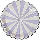 8PCペーパープレートケーキディッシュパーティーのテーマ用品 - A7