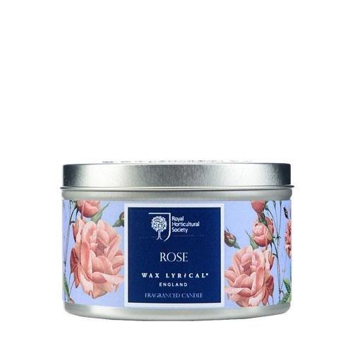 WAX LYRICAL RHS FRAGRANT GARDEN 缶入りキャンドル ローズ CNRH5002