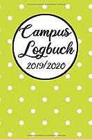 Campus Logbuch 2019/2020: Campustimer 2019 2020 | Studienplaner A5, Semesterkalender fuer Uni Studenten