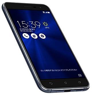 【Amazon.co.jp限定】ASUS ZenFone3 5.2 ZE520KL ブラック(オクタコアCPU/メモリ4GB/32GB/SIMフリー)【正規代理店品】 ZE520KL-BK32S4/A