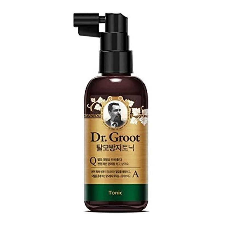 医師シャックル【Dr.Groot 】ドクターグルート Dr.グルート 脱毛防止 頭皮用トニック すべてのヘアタイプ用(Anti Hair Loss Scalp Tonic -For all hair type-)