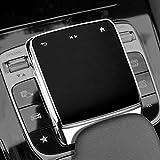 SHIFENGためにメルセデスベンツAMG A B CLA GLE GLS GLBクラスW177 W247 C118 W167 A180 A200 TPUカーセンターコンソールマウス画面保護カバー(銀)