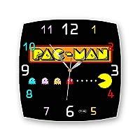 "Pac-Man 11"" 壁時計(パックマン)あなたの友人のための最高の贈り物。あなたの家のためのオリジナルデザイン"