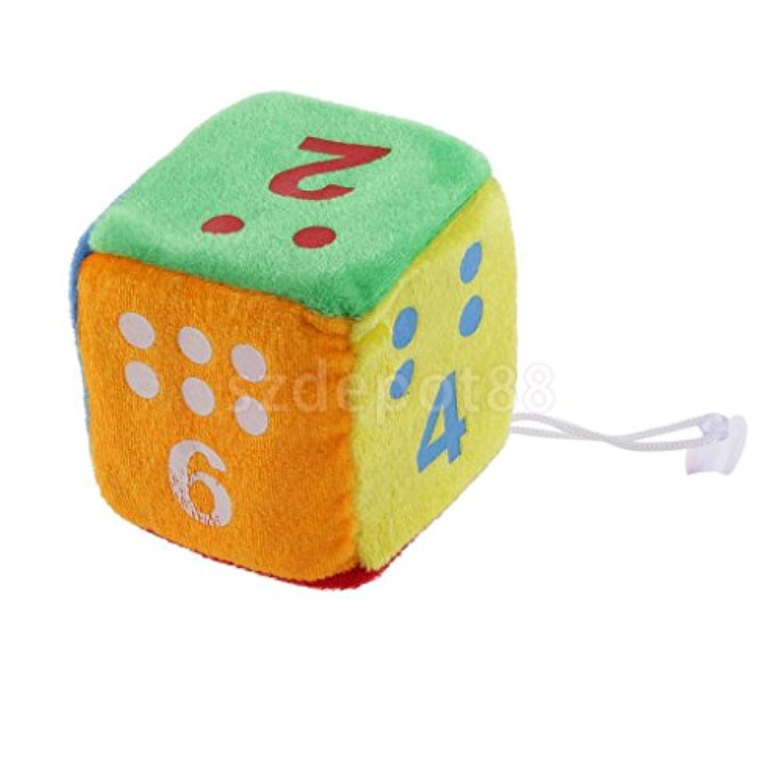 3インチNovelty Plush Stuffed Toy Fuzzy Dice Children 'sアクティビティゲームProp