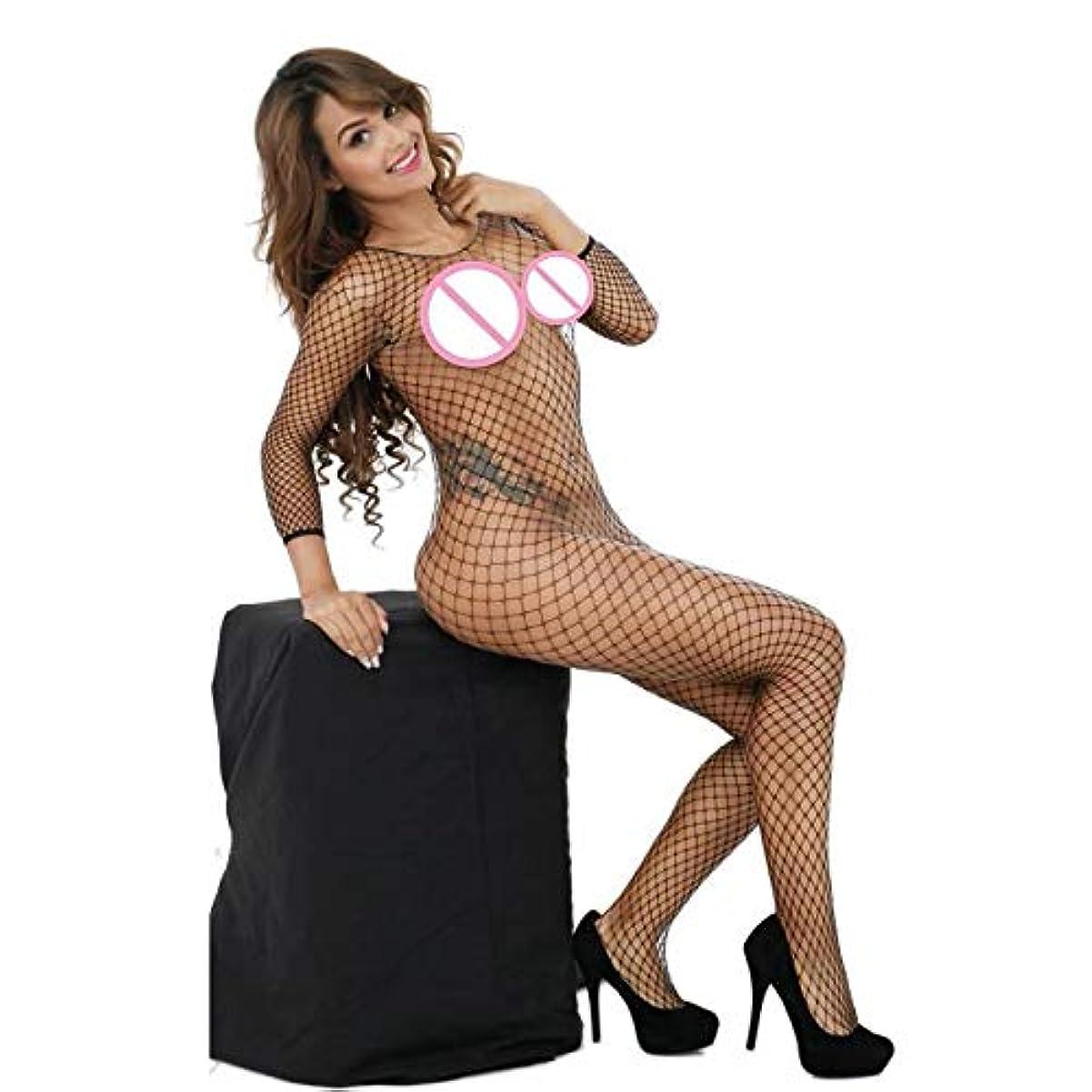 友情セブン有望Cimaybeauty女性セクシーなランジェリー網タイツクロッチレスベビードールボディスーツナイトウェア