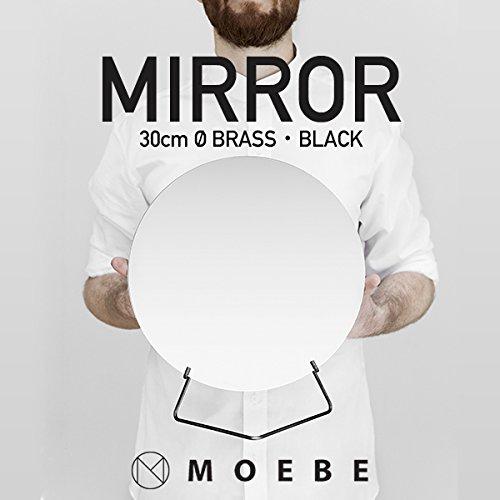 【MOEBE/ムーベ】MIRROR ミラー 直径30cm (ブラス)
